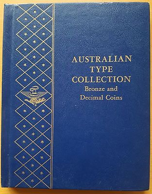 Whitman Australian Type Collection Coin Folder For Silver Pre Decimal Coins
