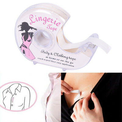 Lingerie Tape Body Fashion.Clothing Double Sided Clear Bra Strip Adhesive Secret