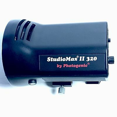 Studiomax II Photogenic Professional Lighting 320 Watt AC Model Strobe Light