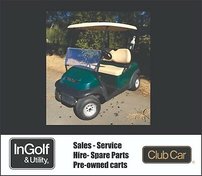 2012 Club Car PRECEDENT 48V Electric Golf Cart Buggy Buggie RECENT BATTERIES