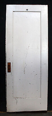 "2 available 30""x78"" Antique Vintage Interior SOLID Wood Wooden Door Single Panel"