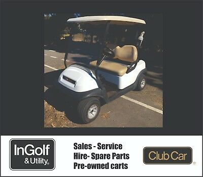 2012 Club Car PRECEDENT 48V Electric Golf Cart Buggie Buggy RECENT BATTERIES