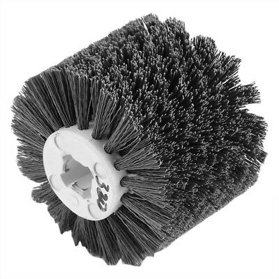 Abrasive Wire Brush Wood Surface Burnishing Polishing Drawing Wheels Grit 320# G