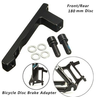 Disc Brake Mount Adaptor for 7 Inch Rotor 180mm Post Caliper Post Fork Front