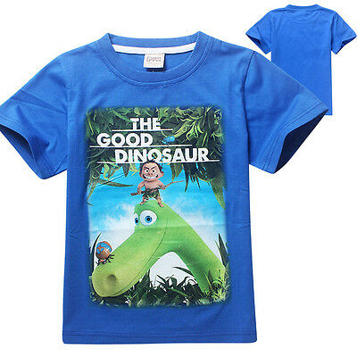Boys The Good Dinosaur tee t-shirt top 100% cotton size 3-8 new AU stock xmas