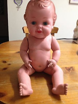 old 40,s /50,s celluloid doll