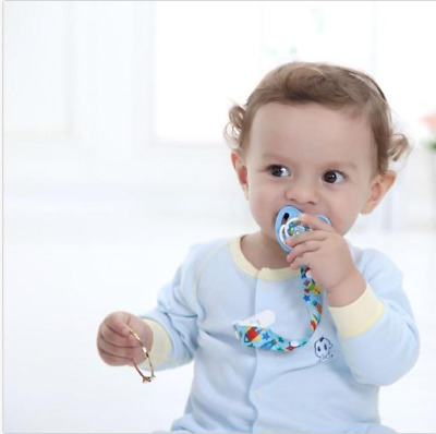 Baby Dummy Pacifier Soother Nipple Leash Strap Suspender Clip Chain Holder