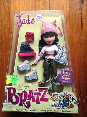 NIB 2001 First Edition BRATZ Doll JADE ORIGINAL Street style Collector item Pop