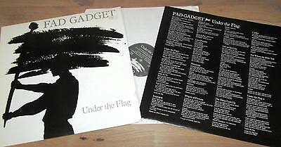 LP von FAD GADGET - Under the Flag - von 1982