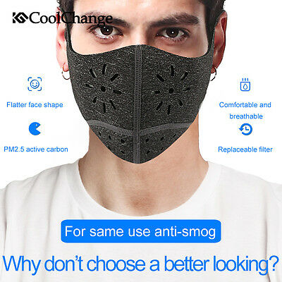 Face Mask Half Anti Dust Pollution Filter Sport Cycling Bicycle Bike Motorcycle