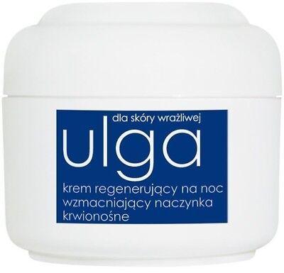 Ziaja Relief Regenerating Night Cream Strengthens Blood Vessels 50ml Krem Na Noc
