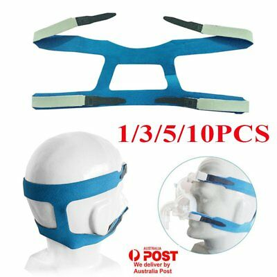 Headgear Gel Full Mask Replacement Part CPAP Head band for Respironics Resmed