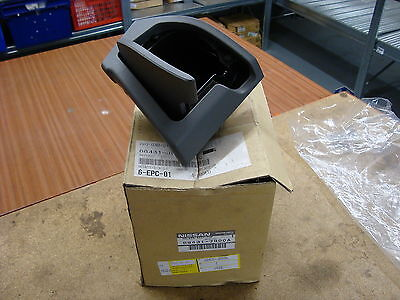 Genuine Nissan Cup Holder Assembly Part No:68431-Jg00A Fits X Trail++Brand New++