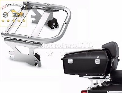Detachable 2Up Tour-Pak Mounting Luggage Rack For HARLEY FLTRI FLHRCI FLHXI FLHR