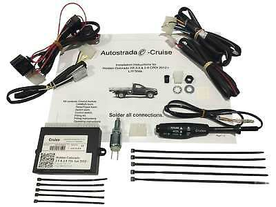 Holden Colorado Cruise Control Kit for 2.5L & 2.8L Turbo Diesel 2012 onwards