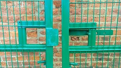 Heavy duty Green Wire Security gates 4.8 m wide x 1.8 m high + Fencing & fixings