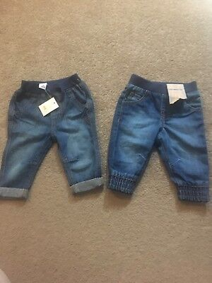 Brand New Baby Boy Jeans 3-6 Months