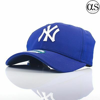 New Era 9FORTY 'Lightweight' New York Yankees Blue Curved Peak Adjustable Cap