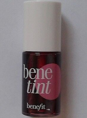 Benefit Benetint rose-tinted Lip & Cheek Stain 4ml Travel Size New