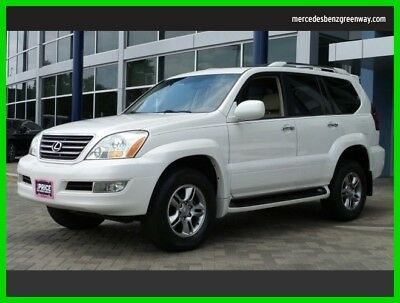 2008 Lexus GX Base Sport Utility 4-Door 2008 Used 4.7L V8 32V Automatic Four Wheel Drive SUV Premium