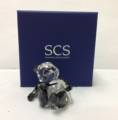 ~SWAROVSKI CRYSTAL 2008 SCS Panda Cub SIGNED-  905543 - NEW IN BOX
