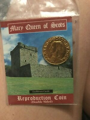 Mary Queen Of Scots Reproduction Coin