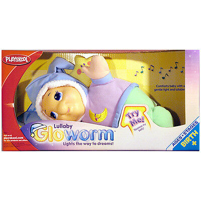 PLAYSKOOL Classic Lullaby Gloworm with Lights & Sounds *BRAND NEW*