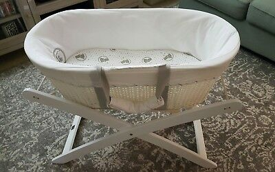 White Childcare Moses Style Bassinet Basket -LOCAL PICKUP ONLY !
