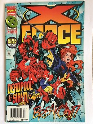 Marvel X-Force 7 Issue Bundle + Rare Deadpool Issue!