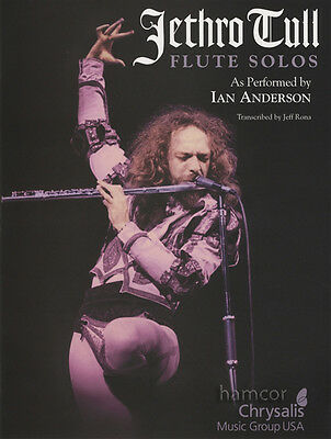 Jethro Tull Flute Solos as Performed by Ian Anderson Sheet Music Book