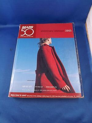 Sears Canada Catalogue 50Th Anniversary 2003 Clothes Housewares Bedding Curtains
