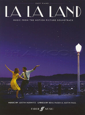 La La Land Easy Piano Sheet Music Book Music from the Motion Picture Soundtrack