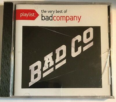 Playlist: The Very Best of Bad Company by Bad Company - cracked case