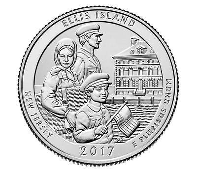 "2017 Ellis Island Nj ""s"" Mint - Available Now"