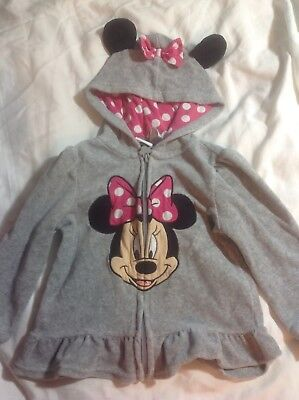Disney Brand Minnie Mouse Jacket Girls 24M / 2T Fall Winter Clothes