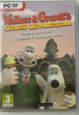Wallace and Gromit: Grand Episodes 3 and 4 (PC DVD)