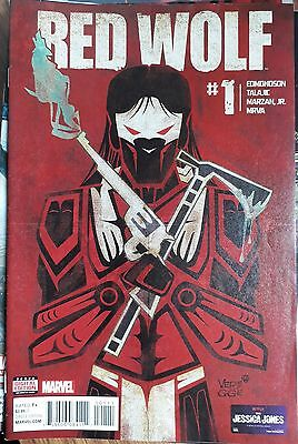 Red Wolf #1 Marvel Comic Book (2016)