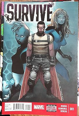 Survive #1 Marvel Comic Book (2014) Ultimate Cataclysm
