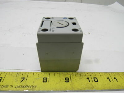 A-B Allen Bradley 100-FPT Ser A Auxiliary Timing Delay Module 690V 10A