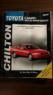 Toyota camry 1983 96 by chilton automotive editorial staff 1998 chiltons manual toyota 1983 96 camry repair manual 68200 fandeluxe Choice Image