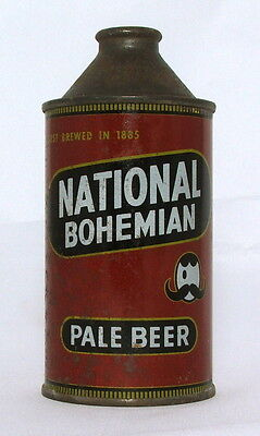 National Bohemian Pale Beer12 oz. Cone Top Beer Can-Baltimore, MD.