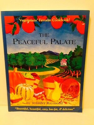 The Peaceful Palate cookbook paperback book