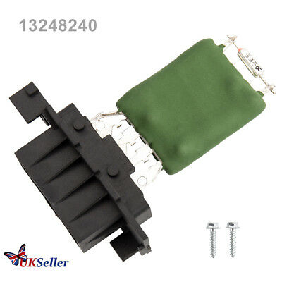 Heater Blower Control Resistor Replacement 13248240 for Vauxhall Corsa D FIAT