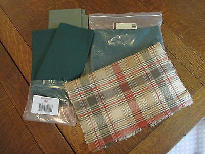 Longaberger Fabric Ivy 36x36 Tablecloth Ivy Sage Napkins Homestead Table Runner