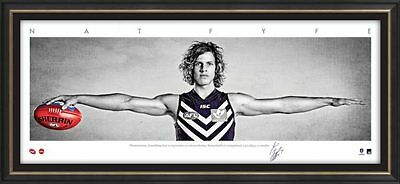 Nat Fyfe – Auto Signature Series WINGS - Unframed - Official AFL Only $65