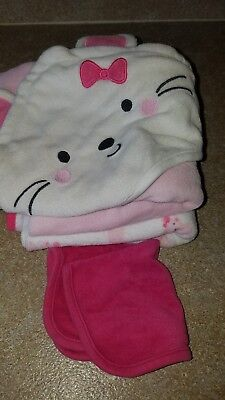 Just One You By Carter's Infant Girls Towels Lot