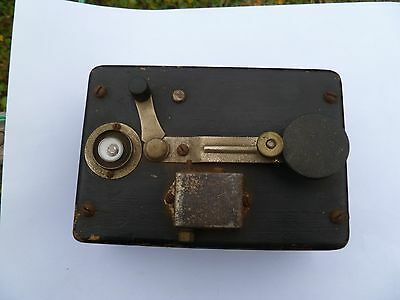 vintage telegraph key-Frank Perry Blinker Signal plus another key