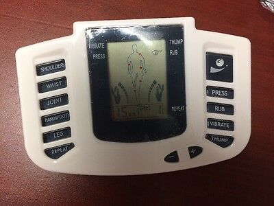 Tens Machine Pain Relief Device Electrotherapy Unit Healthy Living Product
