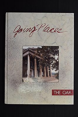 1990 The Oak Indiana University of Pennsylvania Unsigned Yearbook