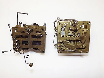 Cuckoo Clock Movement Lot of 2 Movements USED Hubert Herr Bachmaie & Klemmer